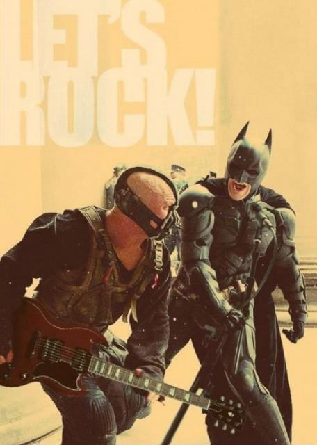 let's rock batman