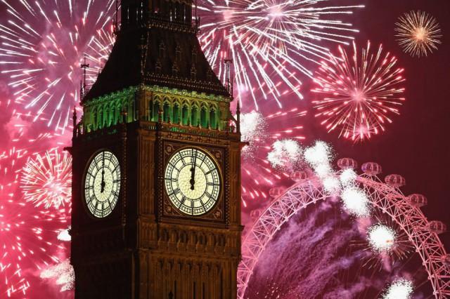 La celebración en Londres. By DAN KITWOOD (GETTY IMAGES)