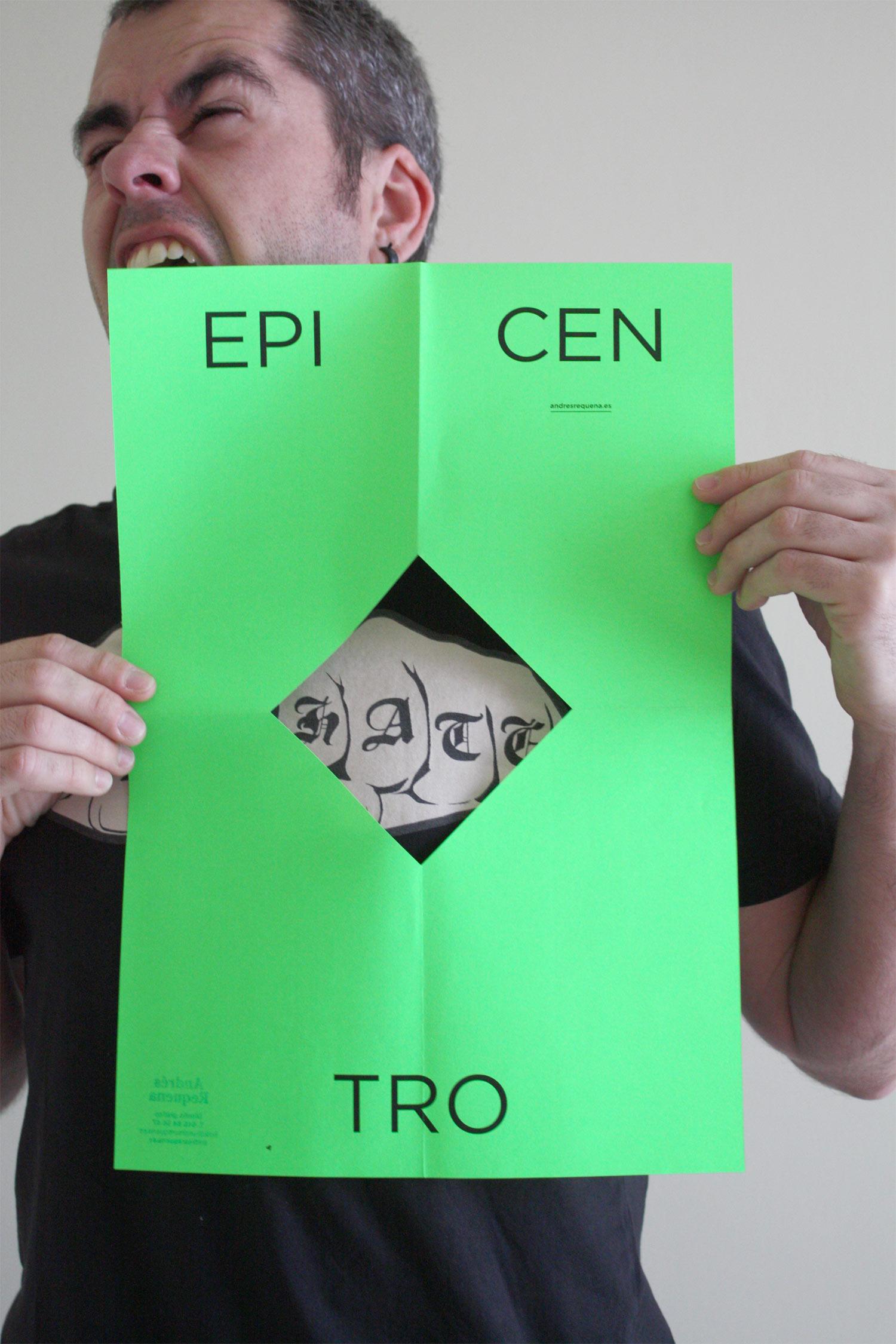 la Negreta, Epicentro, Andrés Requena, Col·laboració, Disseny gràfic, Amor, Odi, Love, Hate