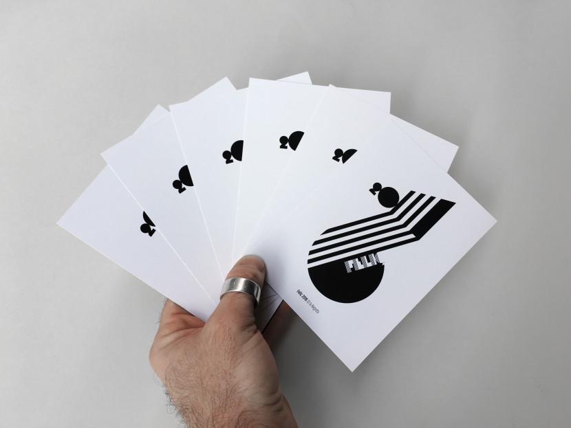 la Negreta, 2016, disseny gràfic, barcelona, cornellà, postal, poster, felicitació, nadala
