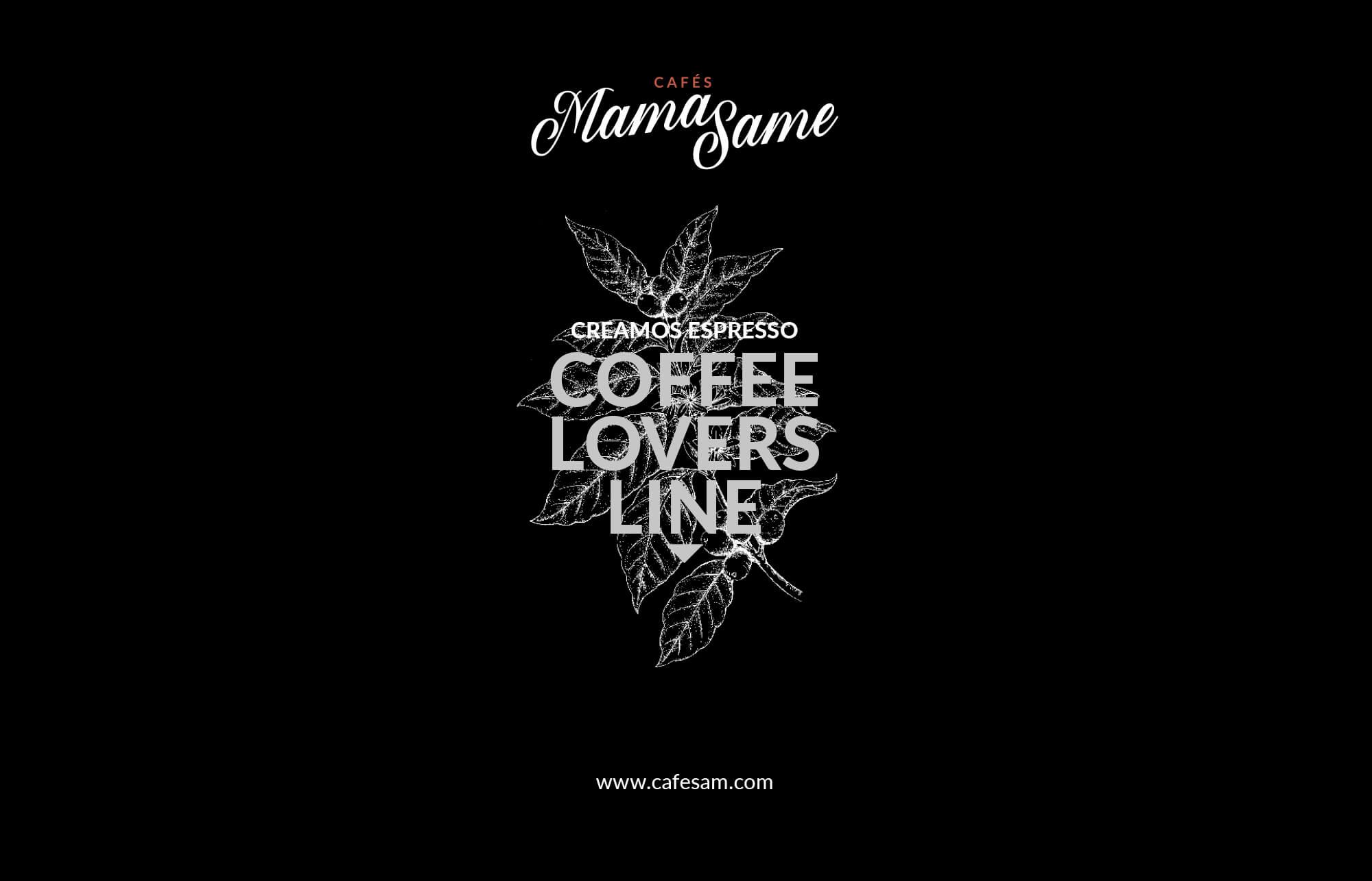 la Negreta, Cafés MamaSame, Cafè, Barcelona, Disseny gràfic, Packaging