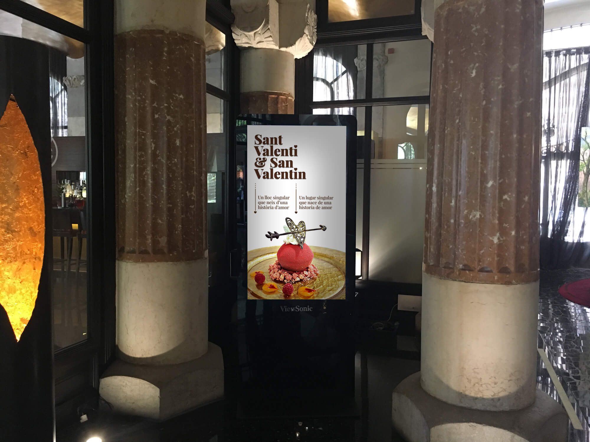 Hotel Casa Fuster, Hotel, Barcelona, Sant Valentí, Newsletter, la Negreta, Disseny Gràfic, Barri de Gràcia, Digital, Comunicació, Mailchimp, TV