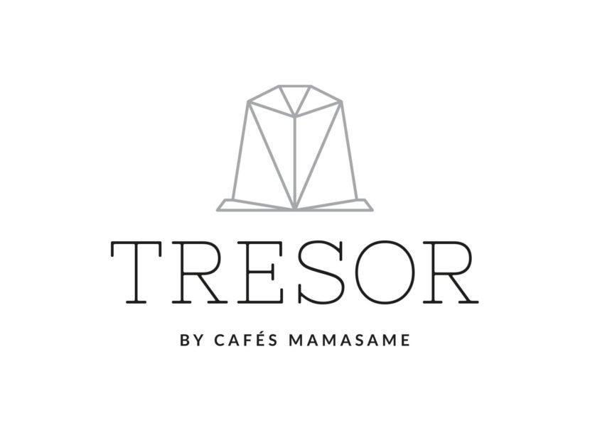 Tresor, Cafés MamaSame, Logotipo, Diseño Gráfico, Diamante, Identidad, Marca, Café, Nespresso, Cápsulas,