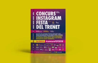 la Negreta, ConcursFDT, ConcursFDT2018, Fiesta del Trenecillo, Diseño Gráfico, Cornellà, Barcelona, Cartel, Póster, Flyer, Instagram, Igers, Can Mercader, Fotografías, Fotos, Camiseta, T-shirt