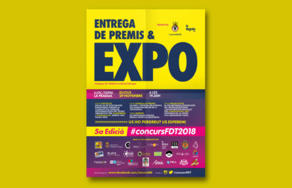 Exposició, Expo, la Negreta, ConcursFDT, ConcursFDT2018, Festa del Trenet, Disseny Gràfic, Cornellà, Barcelona, Cartell, Pòster, Flyer, Instagram, Igers, Can Mercader, LaFragua