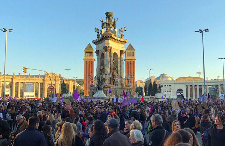 Manifest, Barcelona, Disseny Gràfic, Art Direction, Direcció d'art, 8M, Feminisme, Feminista, Manifestació, la Negreta